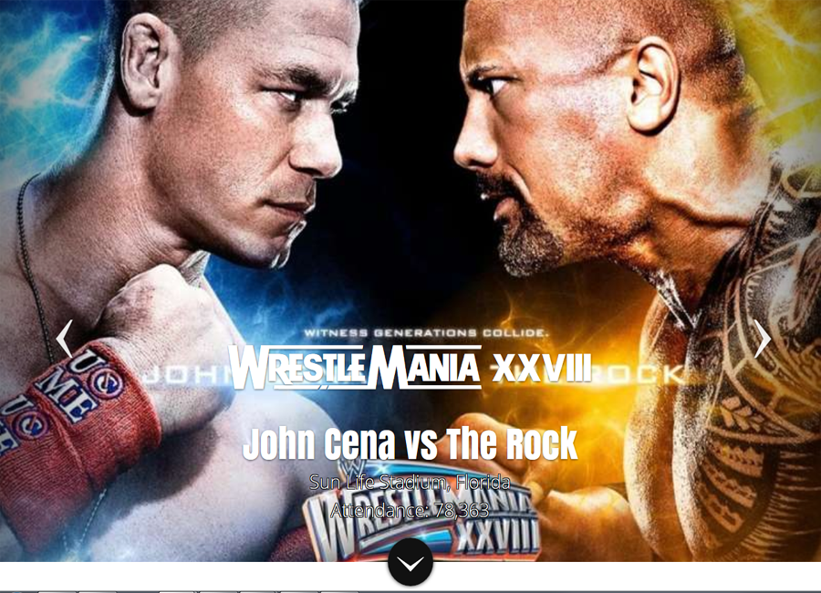 Wrestlemania Main Event